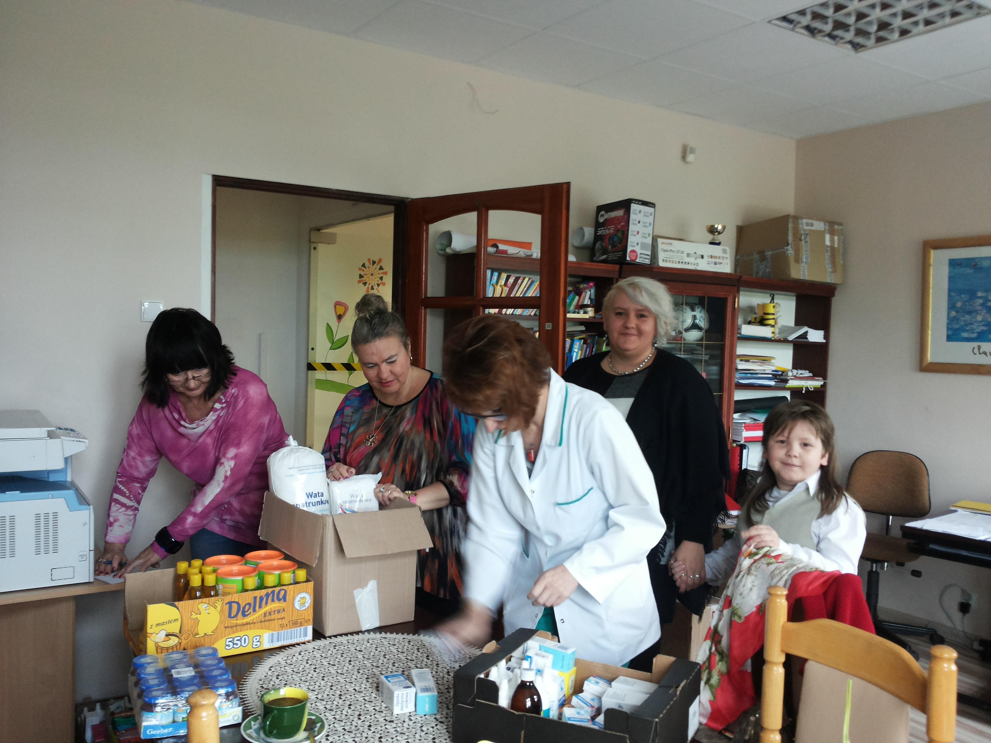Prezenty od SP Nr 1 w Aleksandrowie Kujawskim