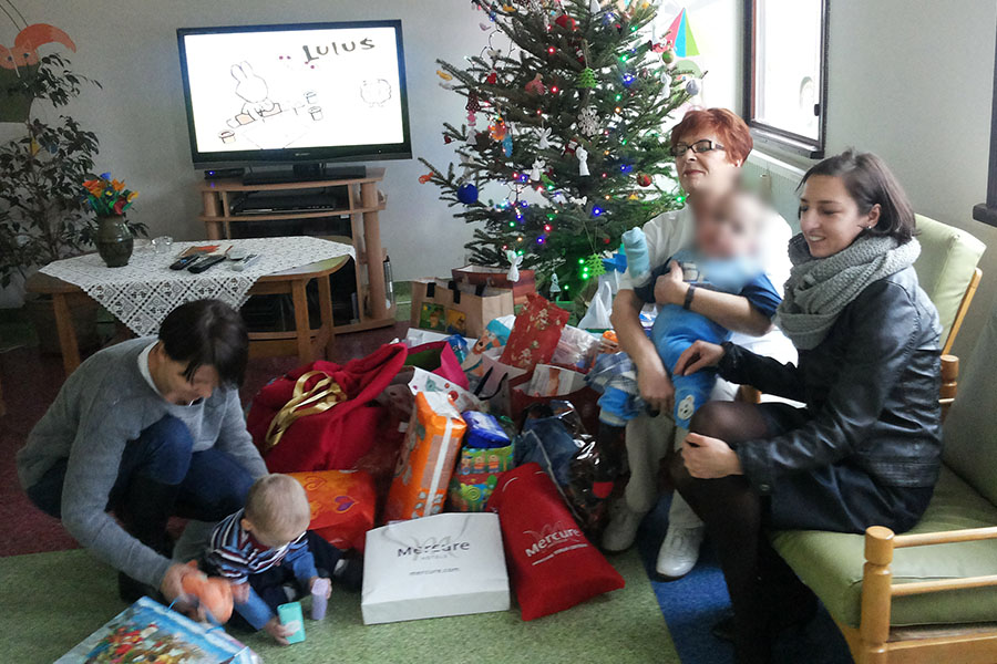 "Upominki świąteczne od Hotelu ""Mercure"""
