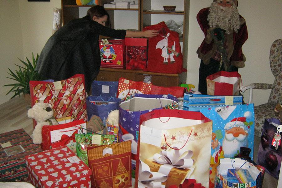 """Spotkanie wigilijne. Finał akcji """"Nadzieja Świąt Bożego Narodzenia"""""""