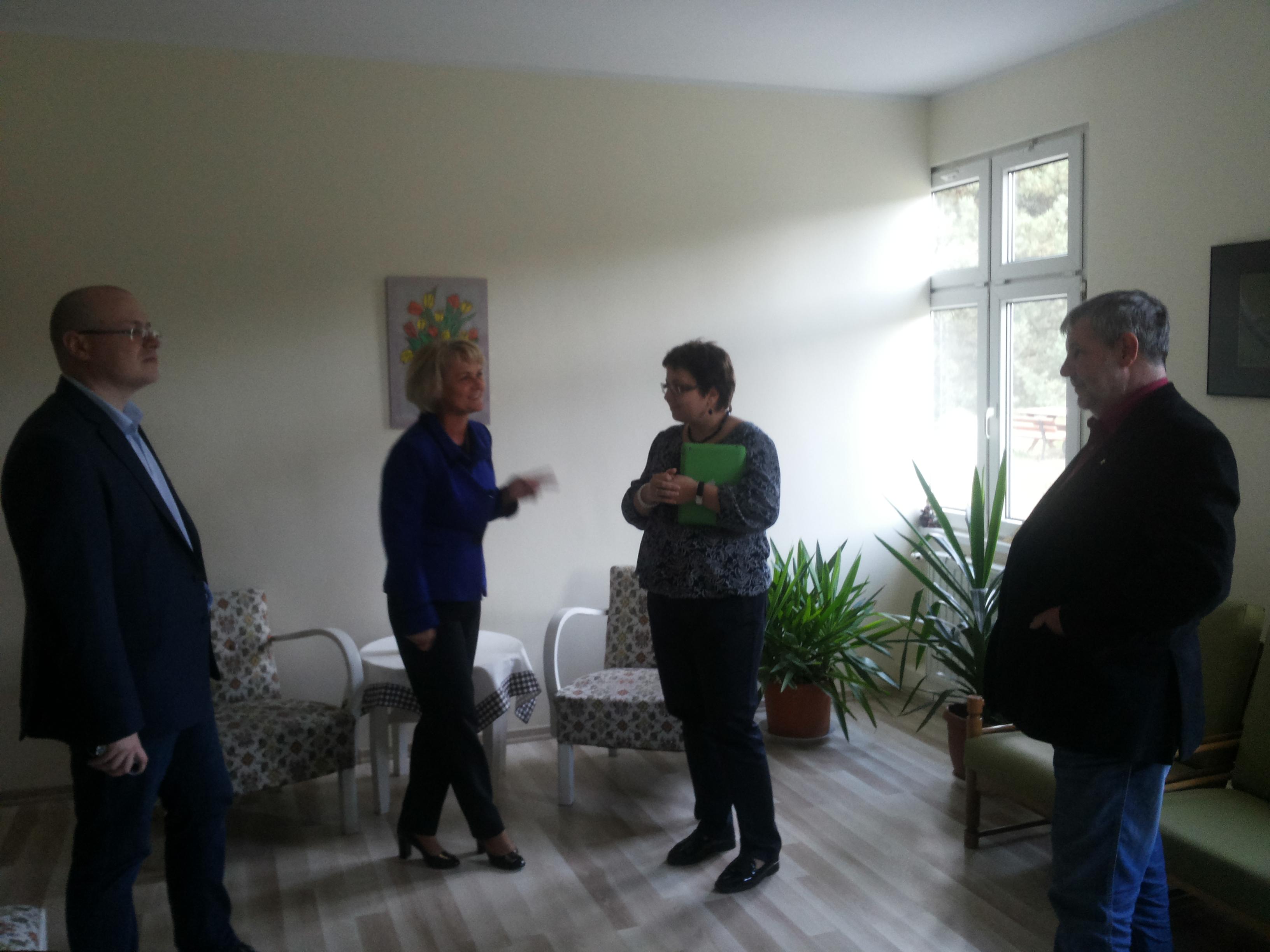 Wizyta przedstawicieli hospicjum dziecięcego z Moskwy