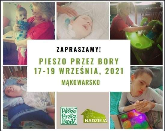 Pieszo przez Bory (Mąkowarsko, 17-19 września)